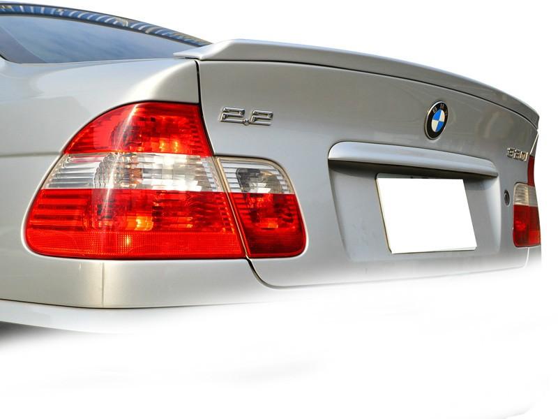 Lotka Lip Spoiler - BMW 3 E46 4D 98-05 ABS AC Style - GRUBYGARAGE - Sklep Tuningowy